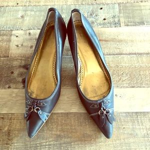 J. Crew Shoes - Black pointy dress shoe